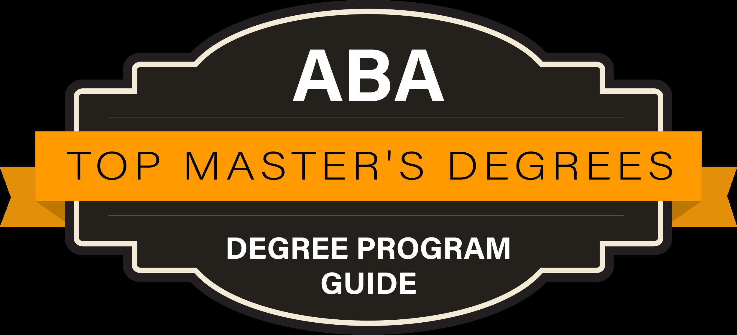 10 Best ABA Master's Degree Programs 2018 | ABA Degree