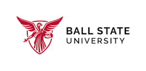 Logo for our profile of Ball State