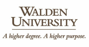 Logo for our profile of of Walden University