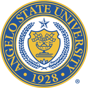 Logo for our profile of Angelo State