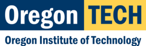 A logo for the Oregon Institute of Technology for our ranking of the top 20 online ABA certificate programs