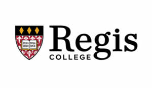 Logo for Regis College in our 20 Best Online ABA Master's Degree Programs