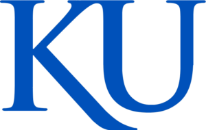 A logo for the University of Kansas for our ranking of the top online RBT training programs
