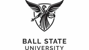 A logo of Ball State University for our ranking of the 20 Most Affordable Online ABA Graduate Certificate Programs