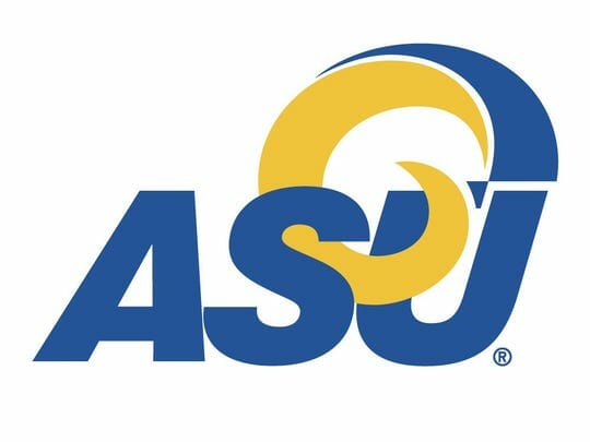 Logo for Angelo State University in our ranking of Top 30 Online Master's in School Counseling
