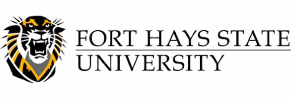 Logo for Fort Hays State University in our ranking of Top 30 Online Master's in School Counseling