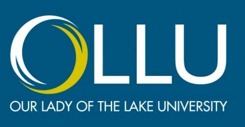 Logo for Our Lady of the Lake University in our ranking of Top 30 Online Master's in School Counseling