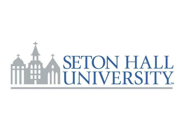 Logo for Seton Hall University in our ranking of Top 30 Online Master's in School Counseling
