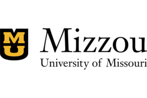 A logo for the University of Missouri for our ranking of the top 20 online master's in autism