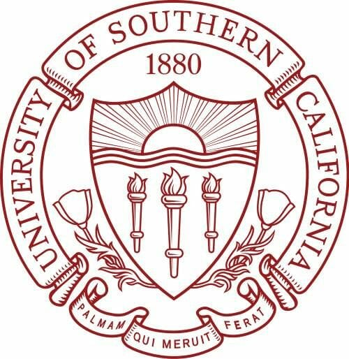 Logo for University of Southern California in our ranking of Top 30 Online Master's in School Counseling