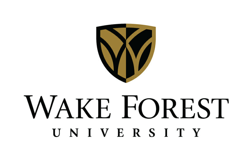 Logo for Wake Forest University in our ranking of Top 30 Online Master's in School Counseling