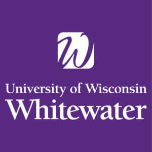 Logo for our profile of UW Whitewater