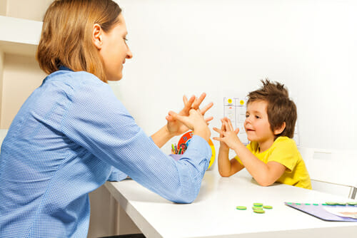 Image of a therapy session for our FAQ What Education is Required to Become an Applied Behavior Analyst
