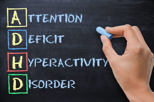 Image of blackboard for our FAQ Can ADHD Be Cured?