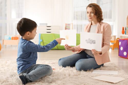 Image of therapy session for our FAQ How is Autism Treated?