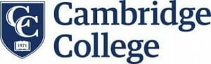 Logo for Cambridge College for our ranking of top master's in ABA