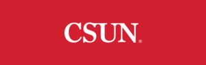 Logo for CSUN for our ranking of top master's in ABA