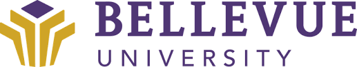 A logo for Bellevue University for our ranking of the top 10 online ABA bachelor's degrees