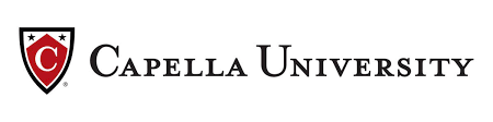 A logo for Capella University for our ranking of the top 10 online bachelor's in applied behavior analysis