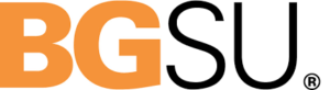 A logo for Bowling Green State University for our ranking of the top 20 online master's in autism