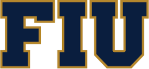 A logo for Florida International University for our ranking of the top 20 online master's in autism online