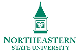 A logo for Northeastern State University for our ranking of the top online master's in autism